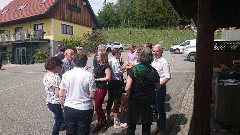 Lammgrillen Weingut Klug